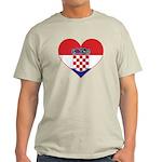 Heart of Croatia Light T-Shirt