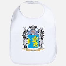 Simone Coat of Arms - Family Crest Bib