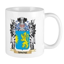 Simone Coat of Arms - Family Crest Mugs