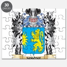 Simone Coat of Arms - Family Crest Puzzle
