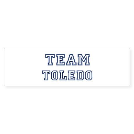 Team Toledo Bumper Sticker