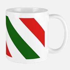 Candy Cane Stripes Holiday Pattern Mug