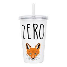 Zero Fox Acrylic Double-wall Tumbler