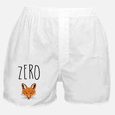 Zero Fox Boxer Shorts