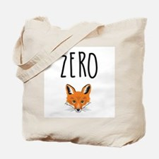 Zero Fox Tote Bag
