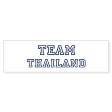 Team Thailand Bumper Bumper Sticker