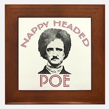 Nappy Headed Poe Framed Tile