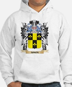 Simon Coat of Arms - Family Cres Hoodie