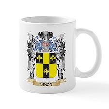 Simon Coat of Arms - Family Crest Mugs