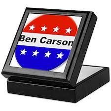 Vote Ben Carson Keepsake Box