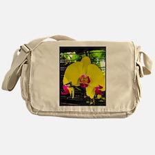Paradise in yellow Messenger Bag