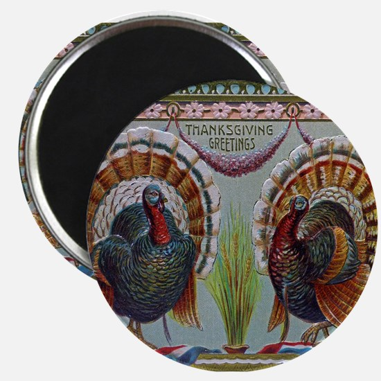Thanksgiving Greetings 1906 Magnets