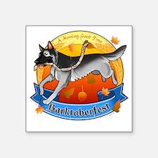 """barktoberfest Square Sticker 3"""" x 3"""""""