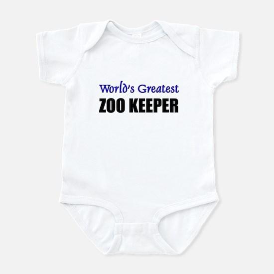 Worlds Greatest ZOO KEEPER Infant Bodysuit