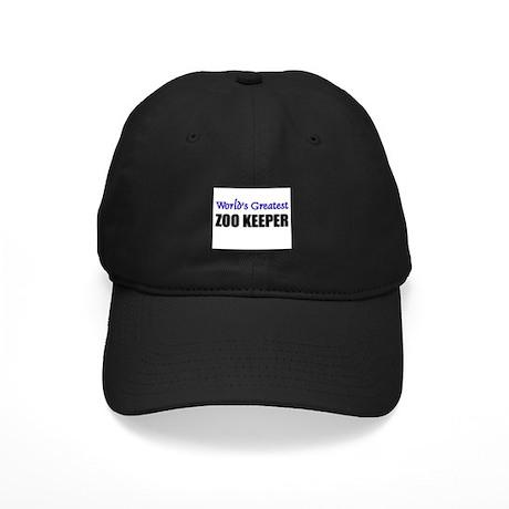 Worlds Greatest ZOO KEEPER Black Cap
