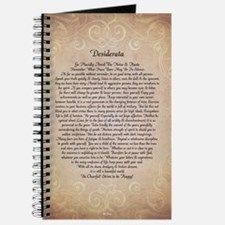 Cute Military wedding Journal