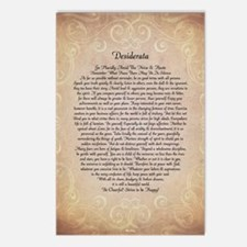 Unique Inspirational poems Postcards (Package of 8)