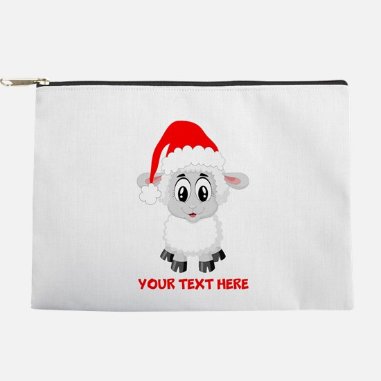 Christmas Santa Sheep Baby Makeup Bag
