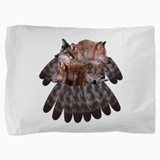 4WolvesDC.png Pillow Sham