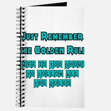 golden-rule-t-shirt Journal
