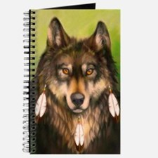 Three Feather Wolf Journal