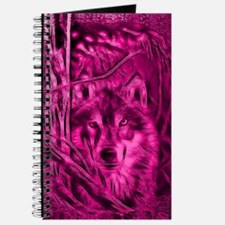 Night-Warrior-Pink-Wolf-ShowerCurtain Journal