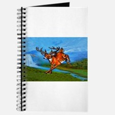 waterfall-deer-t-shirt Journal