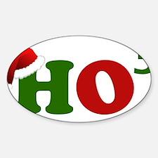 Cute Ho Sticker (Oval)