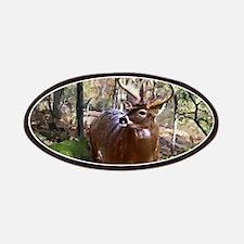 Woodland Buck Deer Patch