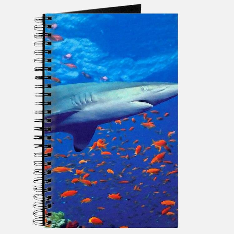 Colorful Shark Journal