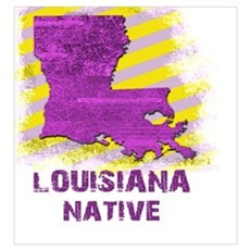 LOUISIANA NATIVE Poster