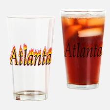 Atlanta Flame Drinking Glass