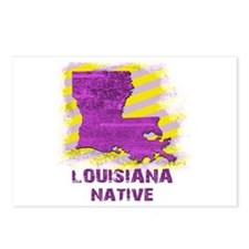 LOUISIANA NATIVE Postcards (Package of 8)