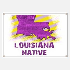 LOUISIANA NATIVE Banner