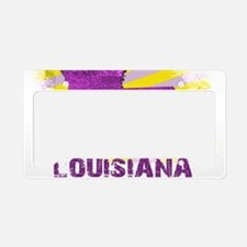 LOUISIANA NATIVE License Plate Holder