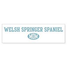 Welsh Springer Spaniel mom Bumper Bumper Sticker