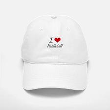 I Love Paddleball artistic Design Baseball Baseball Cap