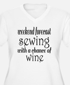 Sewing and Wine T-Shirt