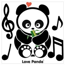 Love Panda®  Framed Print