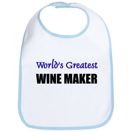 Worlds Greatest WINE MAKER Bib