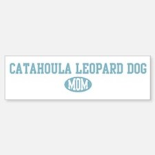 Catahoula Leopard Dog mom Bumper Bumper Bumper Sticker