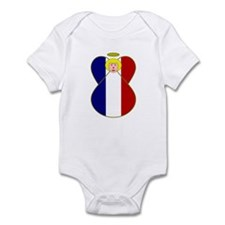 French Angel Flag Blonde Body Suit