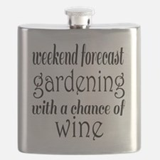Gardening and Wine Flask