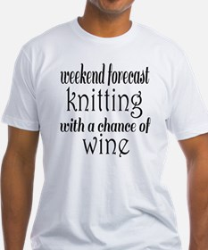 Knitting and Wine Shirt
