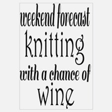 Knitting and Wine