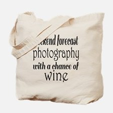Photography and Wine Tote Bag