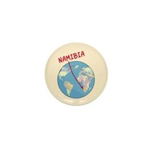 Namibia Map Mini Button (10 pack)