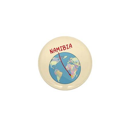 Namibia Map Mini Button