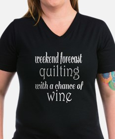 Quilting and Wine Shirt