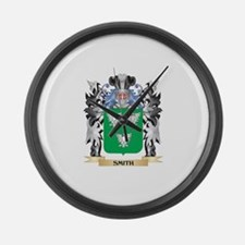 Smith Coat of Arms - Family Crest Large Wall Clock